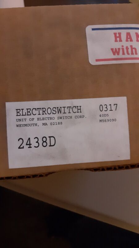 Electroswitch 2438D Rotary Switch Breaker Control