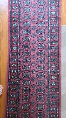 2 x 6 ft hand made Bokhara runner rug Pakistani runner Carpet BUK506