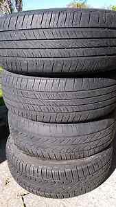 4 x tyres 225/60/17 40-60% tread Ermington Parramatta Area Preview
