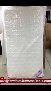 """NEW Single 39""""x74"""", 7.5""""Thick Dual Sided Coil Mattress only$140"""