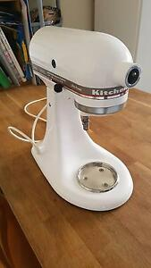 KitchenAid stand mixer in white (NO accessories and 115V) Brighton Bayside Area Preview