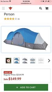 12 person Outbound Dome Tent