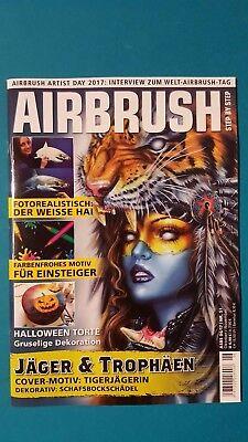Airbrush Oktober/November 2017 Nr.51 ungelesen 1A absolut TOP