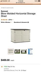 Shed backyard brand new in the box