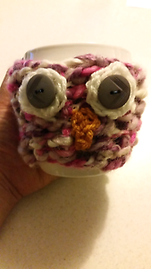 Hand Croquet Owl Cup Warmer Yarraville Maribyrnong Area Preview