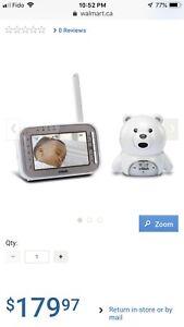 Vtech safe&sound baby monitor
