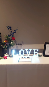LOVE marquee light - wedding decor Shellharbour Shellharbour Area Preview