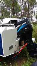 Mecury 125 salt water outboard The Gap Brisbane North West Preview