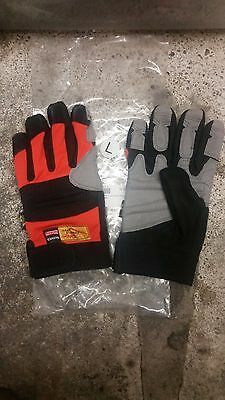 Dragon Fire Rope Rescue Gloves Large