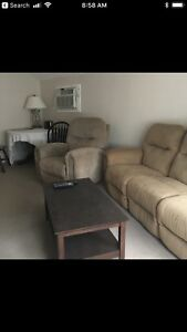 2 bdrm fully furnished appt in Leroy SK 475+power