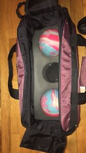 Bowling Balls with Carry Bag