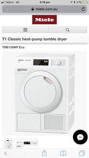 Miele in victoria washing machines dryers gumtree australia miele 8kg ecodry t1 classic heat pump dryer fandeluxe Gallery