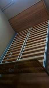 Double Bed Wicker Frame