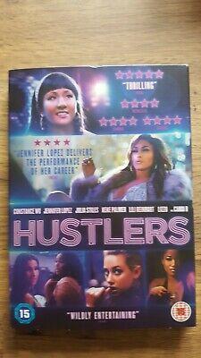 HUSTLERS (DVD), Jennifer Lopez, Cert 15, Very Good Condition