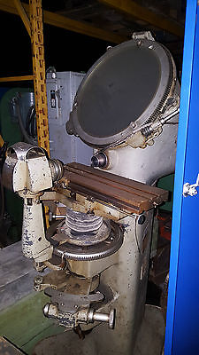 Jones And Lamson Optical Comparator And Parts Measuring Machine