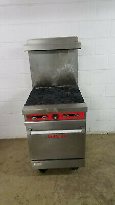 Vulcan 24l-557 4 Burner Half Size Oven Natural Gas Tested