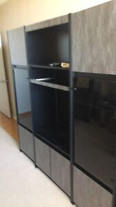 Wall unit, bedroom furniture, coffee table