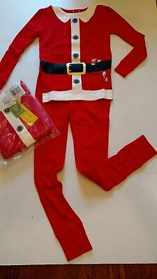 TARGET Santa Suit 2PC PAJAMAS size 5 CHRISTMAS Toddler Boy GirI CHILD PJS Youth - Boys Santa Suit