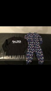 2t Christmas shirt and onesie