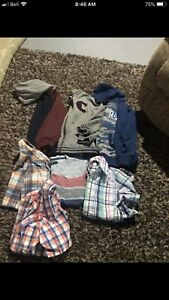 Boys size 7 clothing lot.