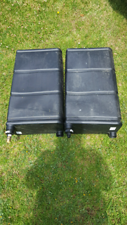 50L water tanks x2