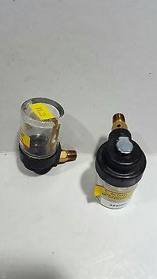 Gast Aa930a Siphon Oiler 2oz Glass Jar 18 Npt Fitting 2.88 L X 2.28 Dia