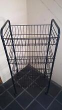 Metal trolley with wheels (Metal wire basket trolley with wheels) Westmead Parramatta Area Preview