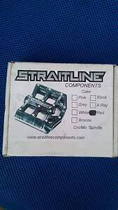 Straitline Pedals Metal - RED Enmore Marrickville Area Preview
