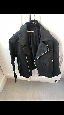 Julien David Textured Biker Jacket