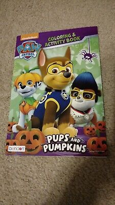 Nickelodeon Paw Patrol Halloween Edition Coloring & Activity Book Tear & Share