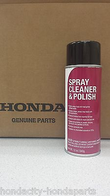 GENUINE HONDA ACURA MOTORCYCLE SPRAY CLEANER AND POLISH - Motorcycle Spray Cleaner