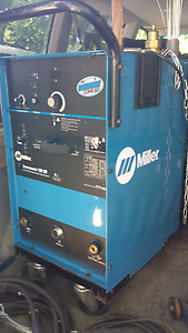MILLER 180 SD SyncroWave TIG Welder and Accessories