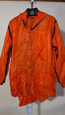 Christopher Raeburn Safety Orange Ripstop Parachute Reconstructed Jacket UK L