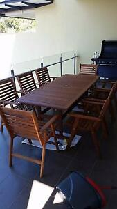 9 Piece Kimberly Outdoor Dining Setting Red Hill Brisbane North West Preview