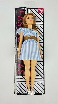 Barbie Fashionista 76 Purely Pinstriped Doll loose
