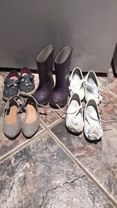 Size 6 and 7 shoes