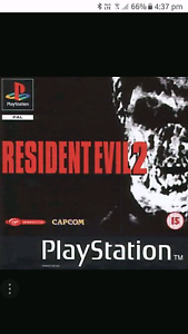WTB: Resident Evil 2 for PS1 Blacktown Blacktown Area Preview