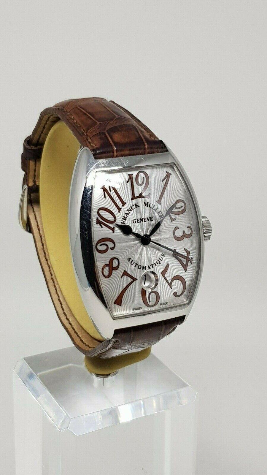 Franck Muller Cintrée Curvex 7851 SC DT - watch picture 1