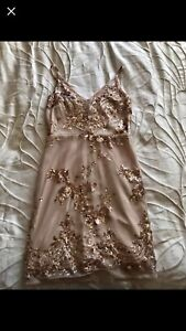 Gold dress for prom or gala