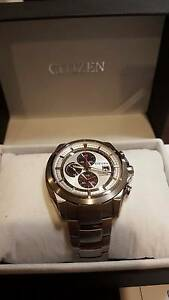 Citizen Eco-Drive Titanium Wristwatch With Sapphire Crystal Wahroonga Ku-ring-gai Area Preview
