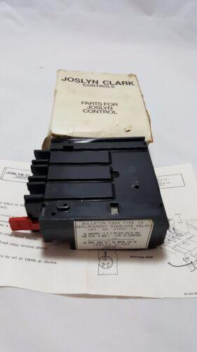 Joslyn Clark KTM31-15 Overload Relay Replacement Kit Type TM Starter 00,0,&1 NIB
