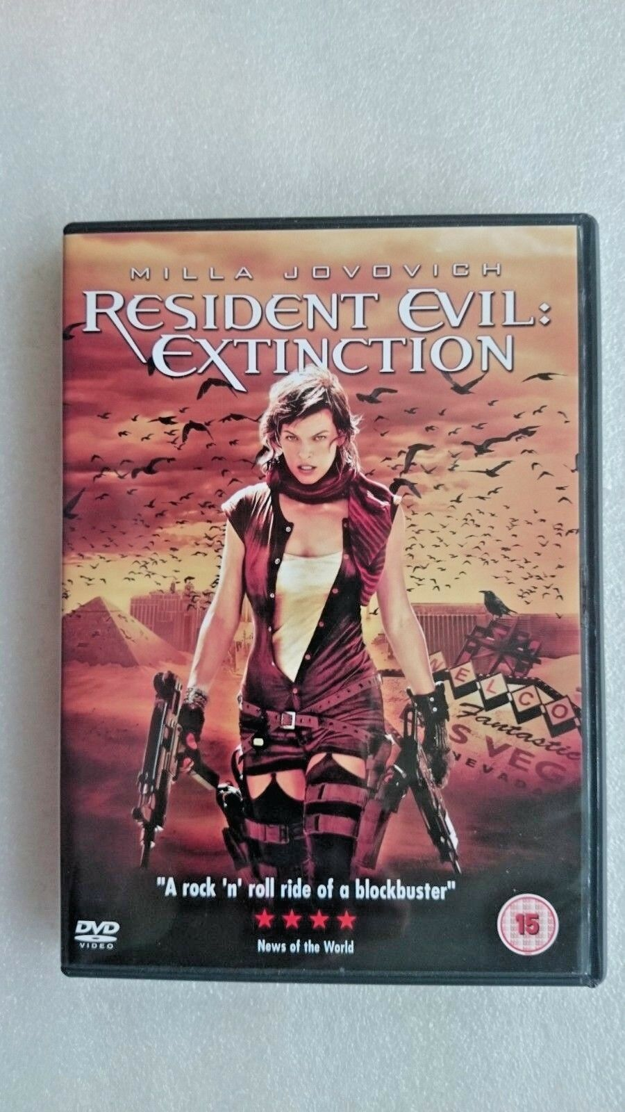 Resident Evil - Extinction (DVD, 2008)