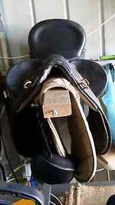 """Marshal Poley Stock Saddle 17"""" Good Condition Rossmore Liverpool Area Preview"""