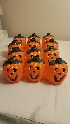 Lighted Pumpkins For Halloween (12 Pumpkins for String Lights for Halloween)