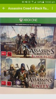 Assassin's Creed Download Codes Xbox One Redcliffe Belmont Area Preview
