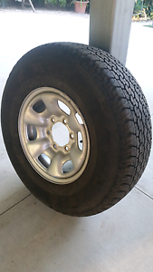 Hilux Tyre and Rim Mount Crosby Brisbane North West Preview