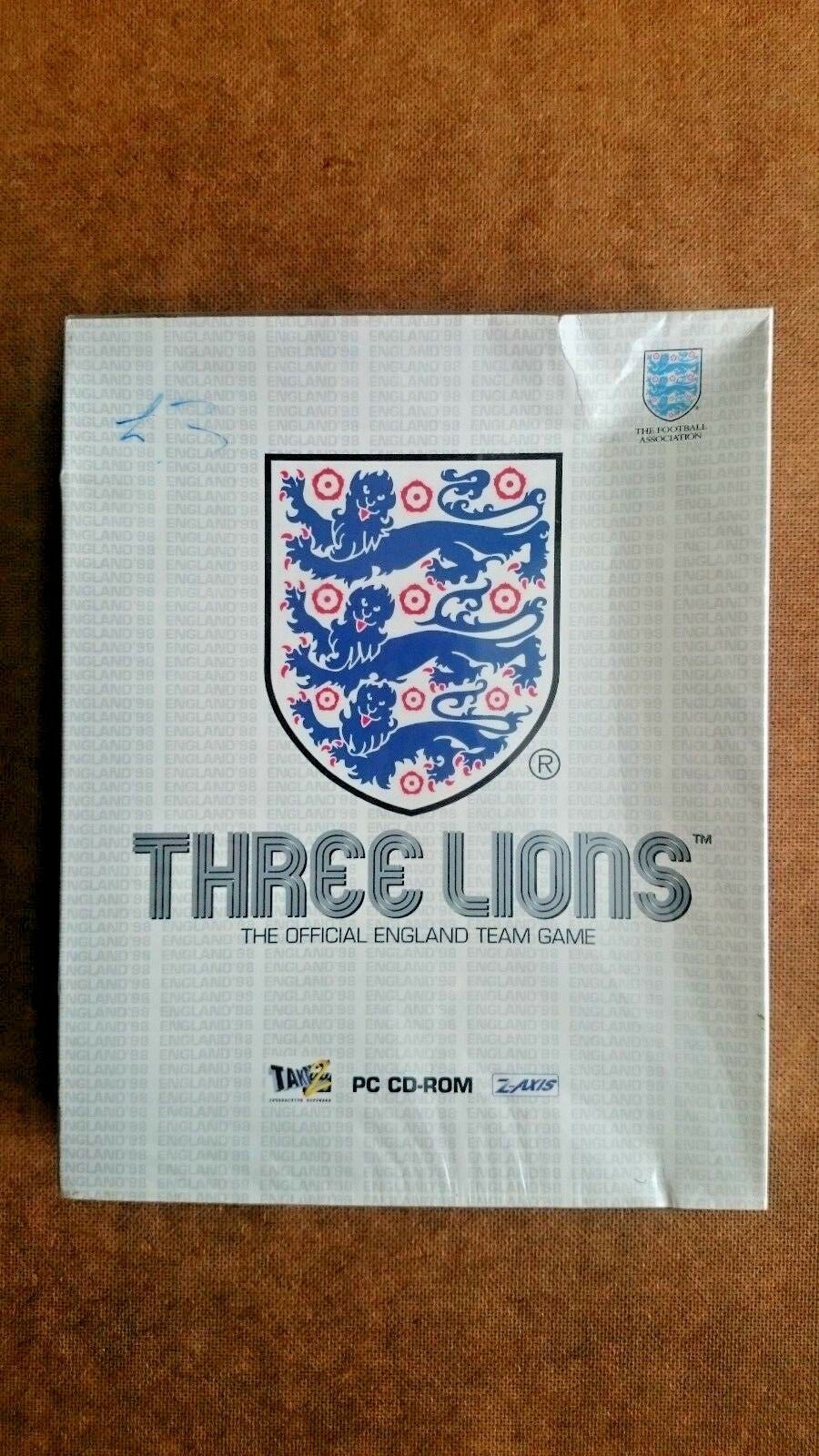 Three Lions - (PC Windows 1994) - Big Box Edition - NEW and SEALED