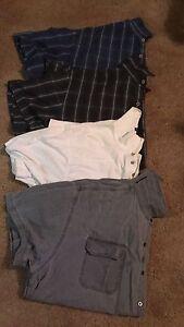 5XL men's short sleeved shirts