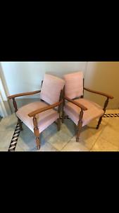 Antique Bridge Chairs