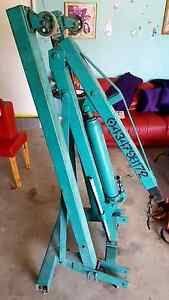 2 ton engine hoist crane hiab for HIRE Cheap rates trailers avail Sydney City Inner Sydney Preview